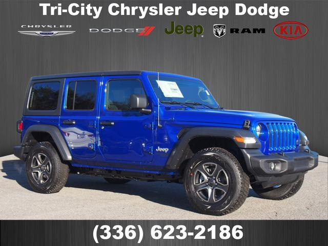 Jeep Wrangler Unlimited Sport >> New 2019 Jeep Wrangler Unlimited Sport S Sport Utility In Eden